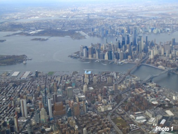 Downtown Brooklyn, and lower Manhattan