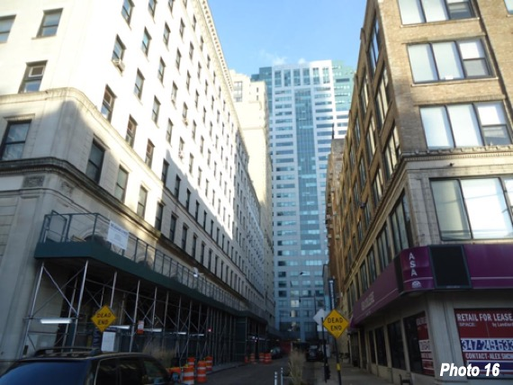 Lower Brooklyn blocks of mid rise buildings