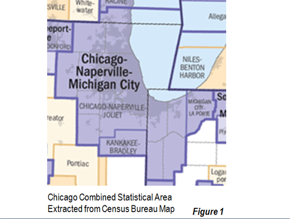 Suburban Chicago Map.The Evolving Urban Form Chicago Newgeography Com