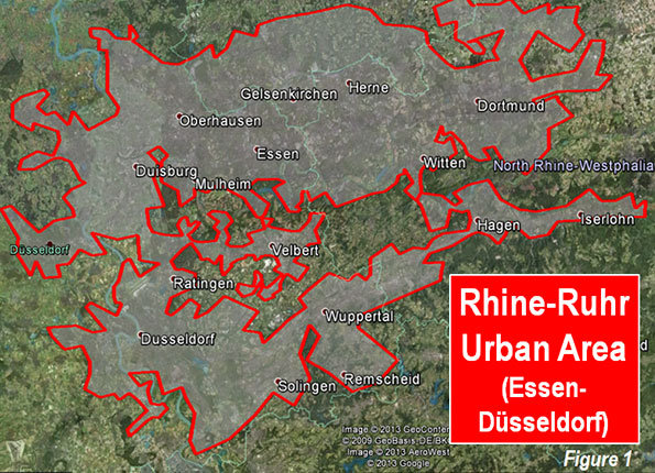 The Evolving Urban Form: The Rhine-Ruhr (Essen-Düsseldorf ... on alexandroupolis on map, darmstadt on map, porto on map, coblenz on map, koln on map, kutna hora on map, pristina on map, arnhem on map, wurzburg on map, mainz on map, eindhoven on map, cluj napoca on map, washington on map, rostock on map, fez on map, lodz on map, hildesheim on map, wiesbaden on map, bergen on map, san carlos de bariloche on map,