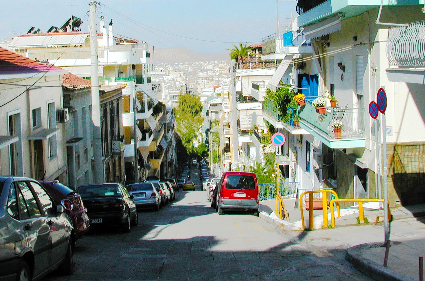 Street in Piraeus