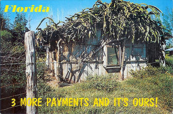 Florida vintage postcard-3 more payments2925909072_3d559315e9.jpg