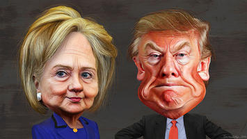 Hillary_Clinton_vs._Donald_Trump_-_Caricatures (1).jpg