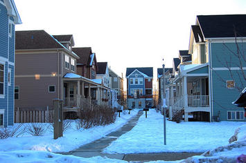 New Urban townhomes, Six Corners, Chicago.jpg