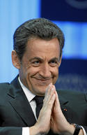 N Sarkozy; Davos 2011.jpg