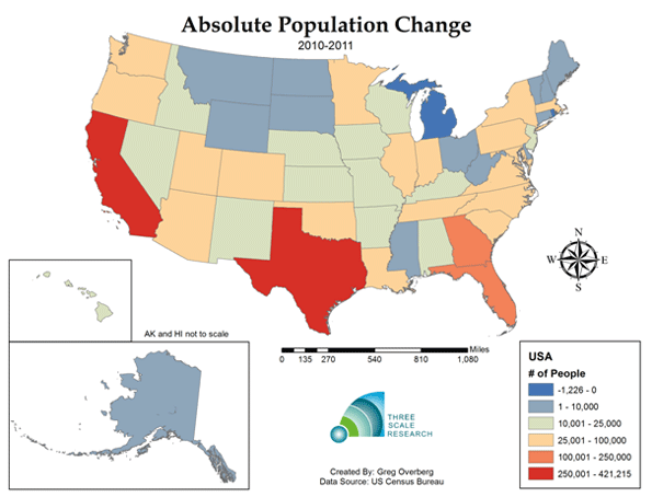 Is The United States Population Heading to Longterm Deceleration