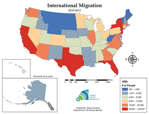 Immigration human migration and united states