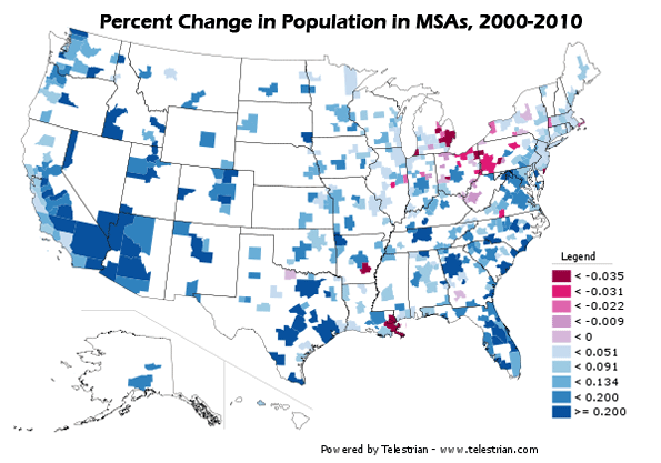 Census 2010 Offers Portrait of America in Transition