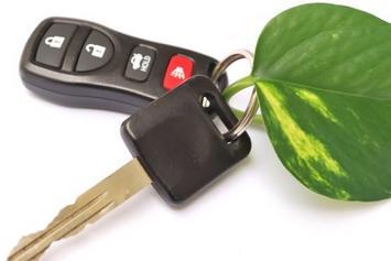 Car Key with GreenLeaf-iStock_000007105511XSmall.jpg