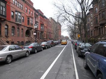 Harlem; abike lane near Mount Morris Park.jpg