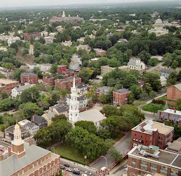 church and town, college hill RI.jpg